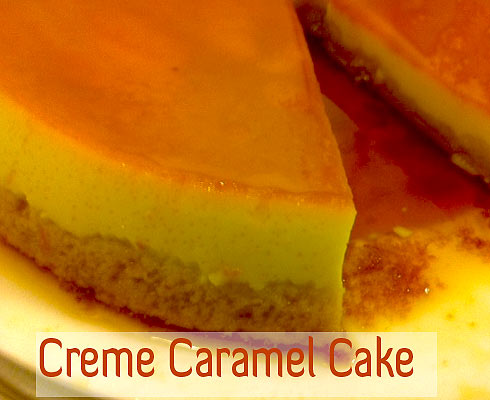 Cakes Sweets tags: Creme-Caramel-Cake