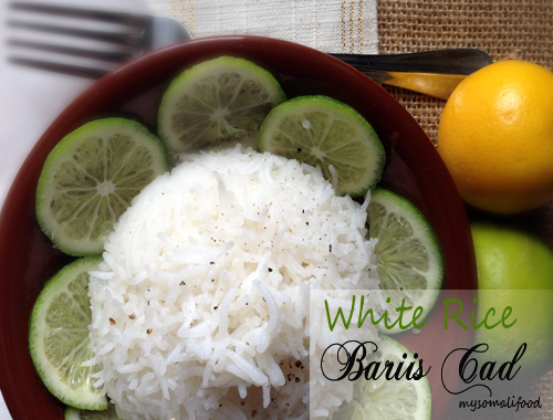 Somali food and more my somali food fluffy white rice bariis cad forumfinder Images