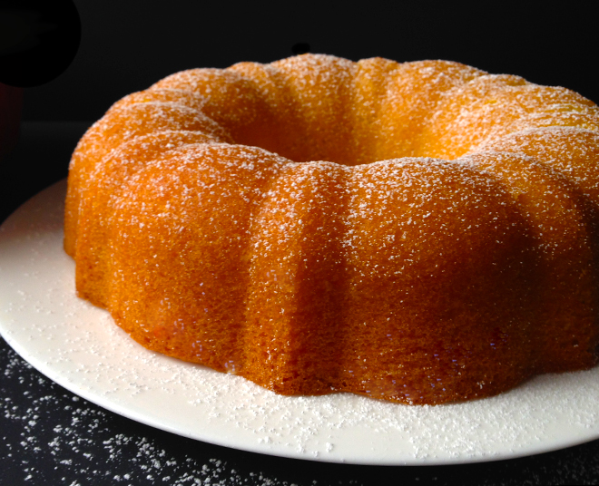 Orange Vanilla Cinnamon Cake