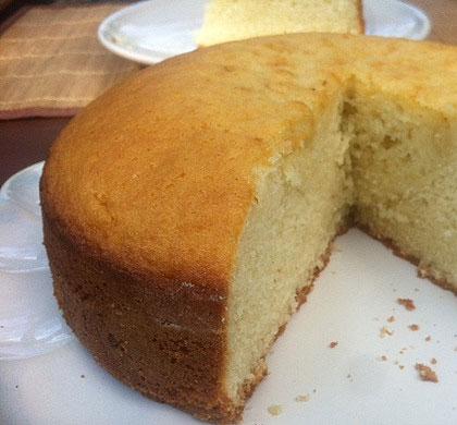 Vanilla Cardamom Cake
